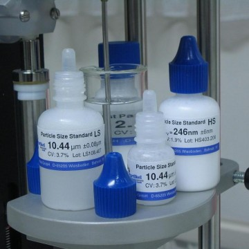 Particle Size Standards-HS Series with certificate 150nm to 100µm