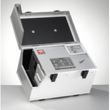 Touchscreen ABAKUS® MOBIL FLUID Laser particle counter